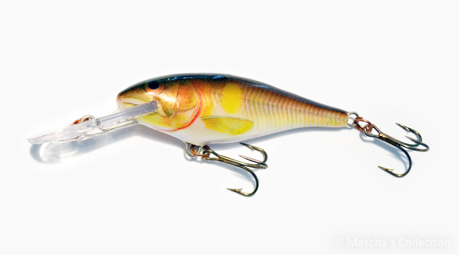 Rapala Shad Rap Deep Runner SR07, color Ayu (AYU)