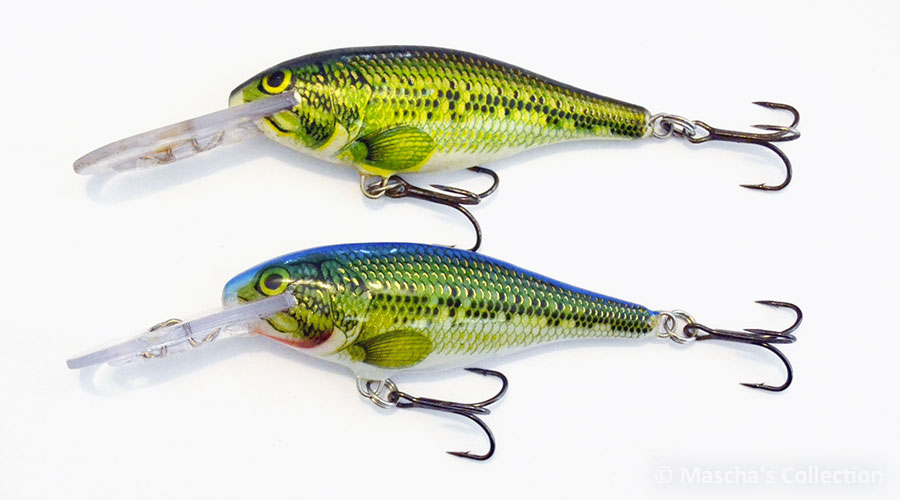 Rapala SR07 BB & B/BB comparison