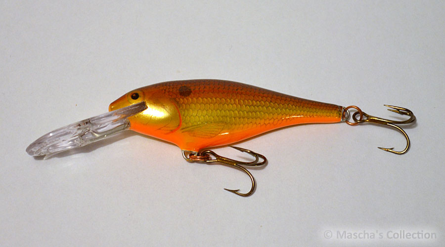 Rapala Shad Rap Deep Runner SR07, color Crawdad (CW) 1st Gen