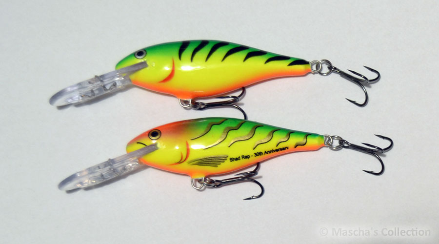 Rapala SR07 FT30  and FT - comparison
