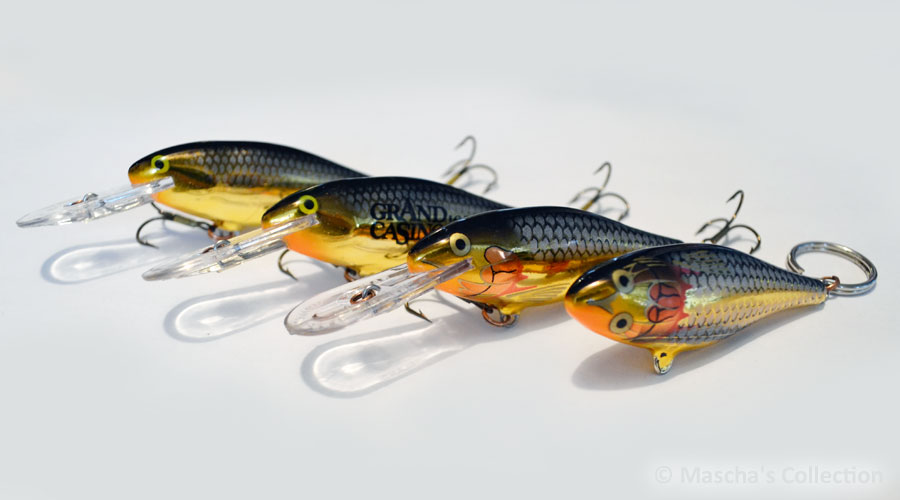 My Rapala SR07 SG family