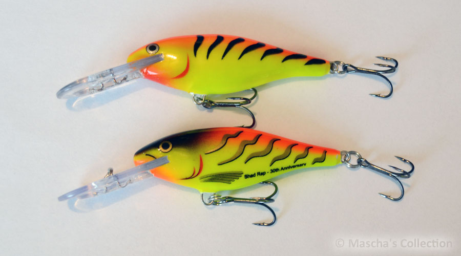 Rapala SR07 HT30  and HT - comparison