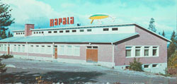 Second Rapala factory Vääksy (1965). Zdroj: Rapala Facebook